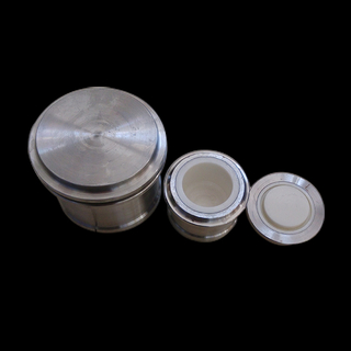 Zirconia Jar With SUS 316 Jacket